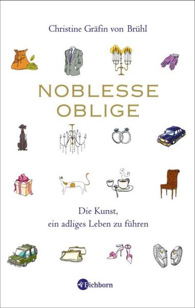 Christine von Brühl - Cover Noblesse Oblige